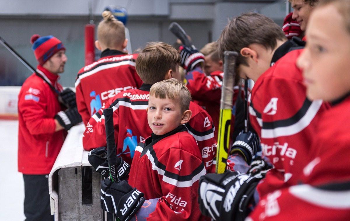 Eishockey Camp in Tschechischen
